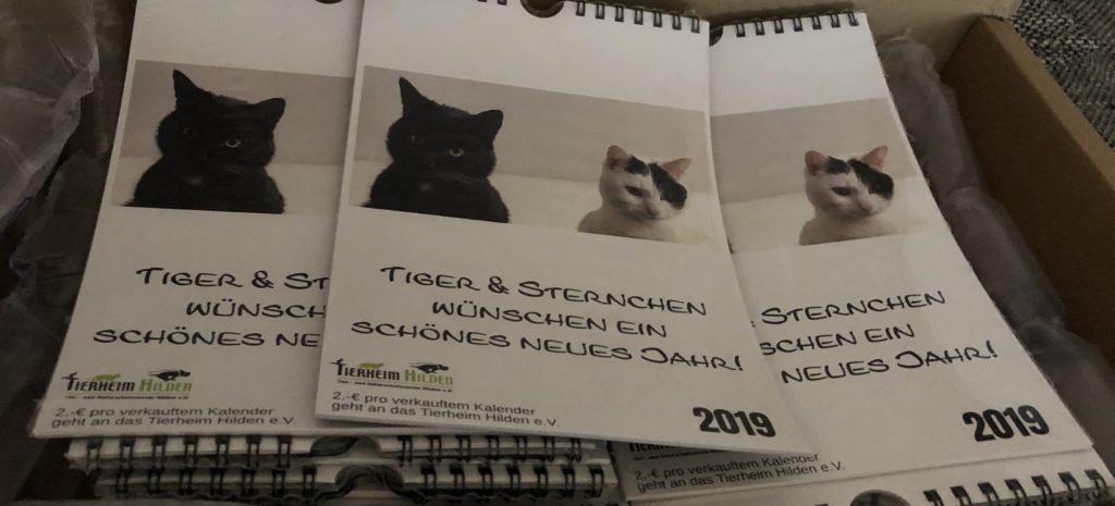 Kalender Tiger & Sternchen Guter Zweck